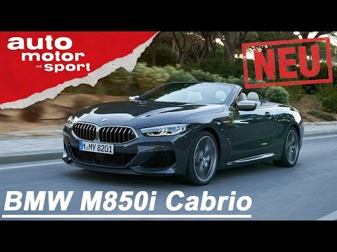 BMW M850i xDrive Cabrio (2019):  Sport trifft auf Speck - Review/Fahrbericht   auto motor &sport