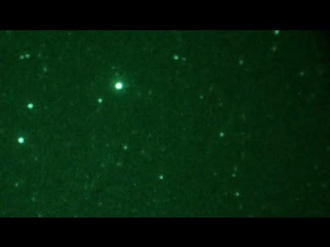 Flashing Satellites or ETs / Sky Anomalies Communicating? Pacific Pines, Australia - Aug 29, 2016