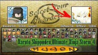Naruto Shippuden Ultimate Ninja Storm 4 MUGEN PC +(DOWNLOAD).