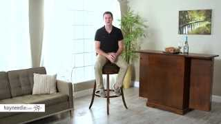 Belham Living Reno Extra-tall Swivel Bar Stool - Product Review Video