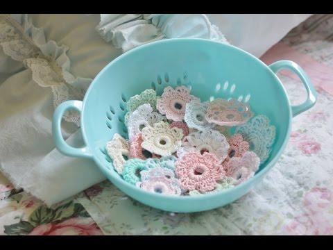 ''Crochet Candy'' #tutorial (crochet embellishment)