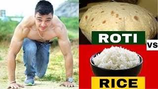 Ghar ki ROTI VS RICE- Which Is BETTER For Your HEALTH? | Info by Nikhil Agrawal