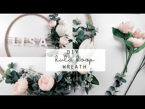 DIY Hula Hoop Wreath | Kmart Hack