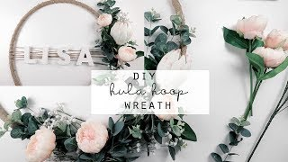 DIY Hula Hoop Wreath | Kmart Hack