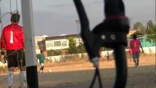manuel doblado guanajuato , futbol  landeros jugando con la hidalgo.