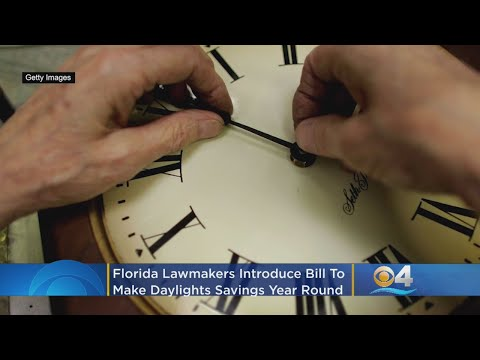 Florida Lawmakers Introduce Bill To Make Daylight Saving Time Year Round Across The Country – Local News Alerts