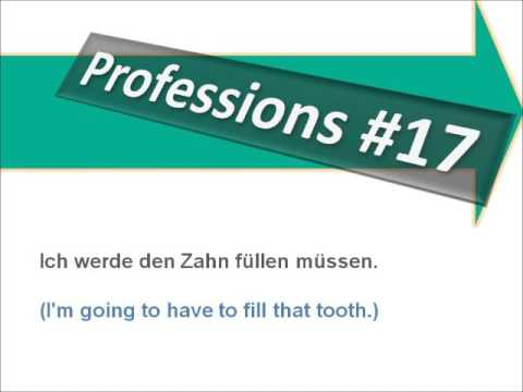 Medical Terms – Phrases Dentist - Learn German with Martha -