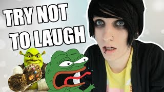TRY NOT TO LAUGH CHALLENGE - VINE / SHREK EDITION