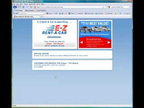 Tampa Car Rental Deals