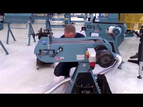 Kako pretvoriti SCANTOOL stroj za izradu radijusa na cijevima u tračnu brusilicu u nekoliko minuta
