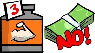 3 Muscle Supplements NOT Worth Your Money