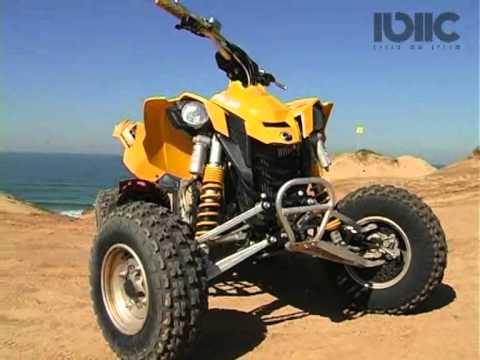 מקורי השקת ה-DS450 של קאן אם / The Launch of the Can Am DS450 - YouTube TW-36