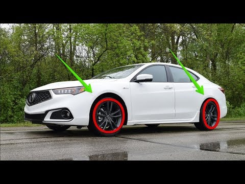 2018 Acura Tlx A Spec 0 60 Youtube