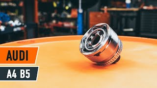 How to replace Suspension ball joint on TOYOTA AURIS (NZE18_, ZRE18_) - video tutorial
