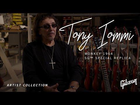 Tony Iommi Monkey 1964 SG Special Replica