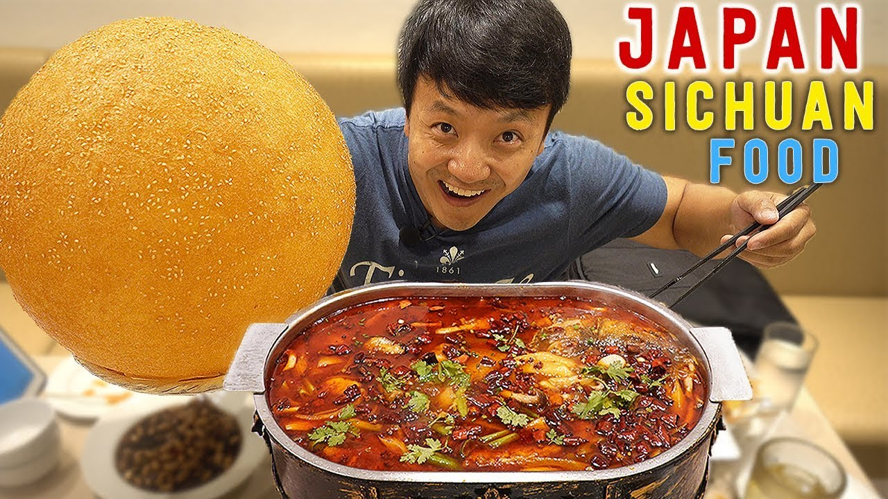 spicy-sichuan-chinese-food-giant-sesame-ball-in-tokyo-japan