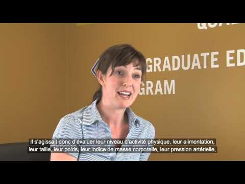 The Prevention Practitioner Experience  Rebekah Barrett, RN French Subtitles