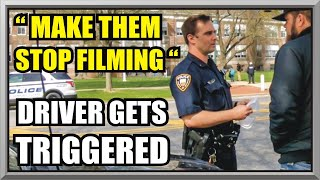 OFFICER UPHOLDS 1ST AMENDMENT, Still Some People Never Learn - E.H.V.P.D. - First Amendment Audit 45