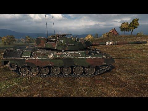 stopcontact online officiële leverancier online bestellen Kurg79: WoT Leopard 1 (with Milky's skin)   10.900+ DMG ...