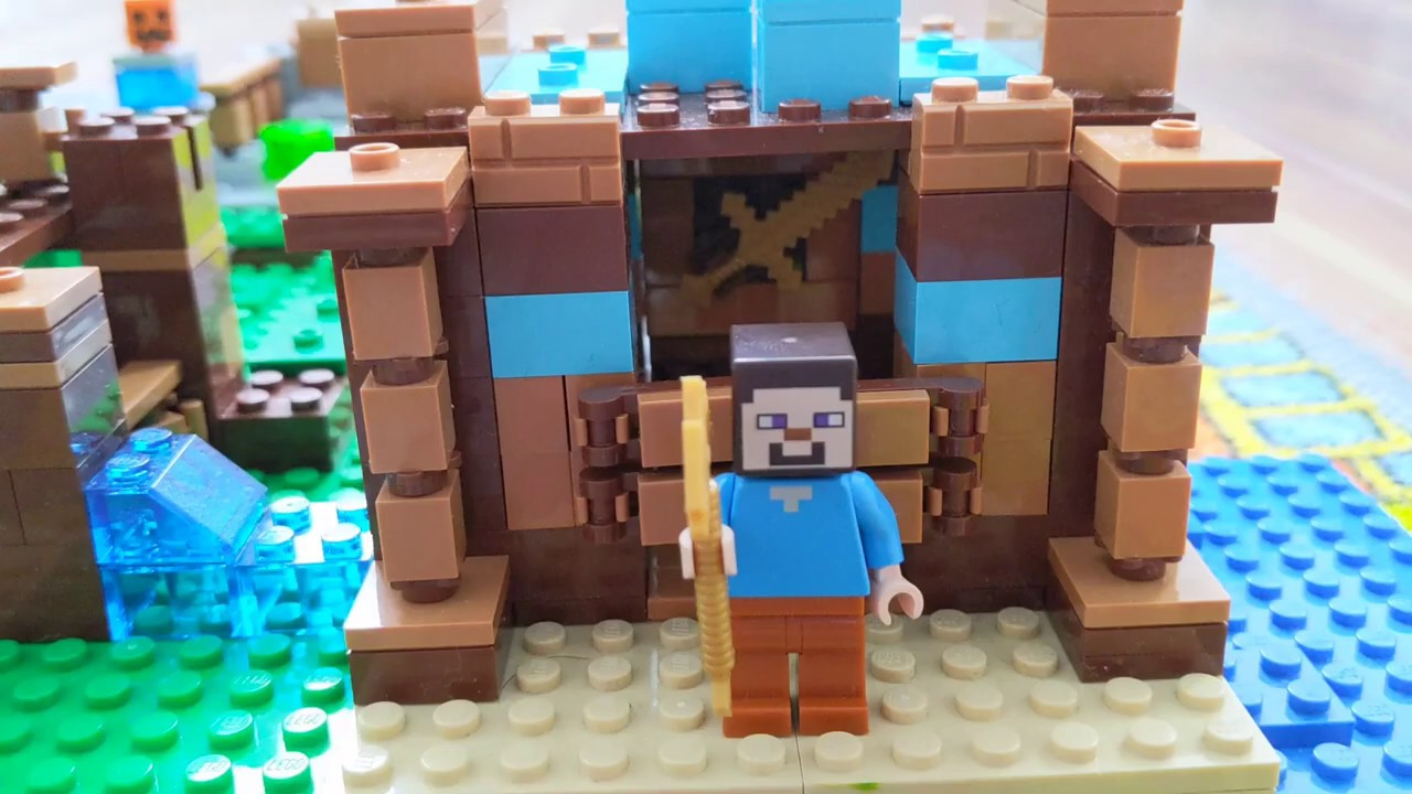 lego minecraft folge 3 der enderdrache - youtube