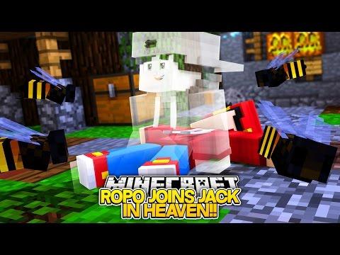 Minecraft Adventure - LITTLE ROPO JOINS JACK IN HEAVEN!!!