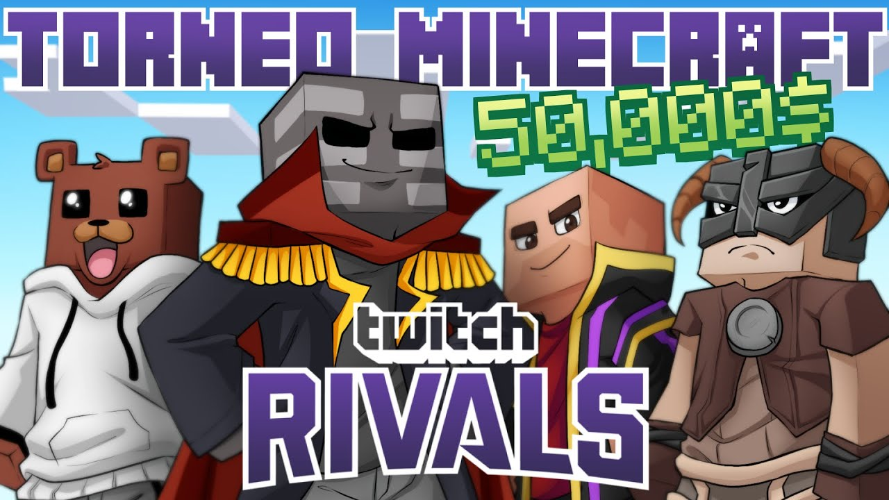 TORNEO DE MINECRAFT PvE DE 50,000$! Twitch Rivals