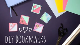 HOW TO MAKE YOUR OWN BOOKMARKS / DIY