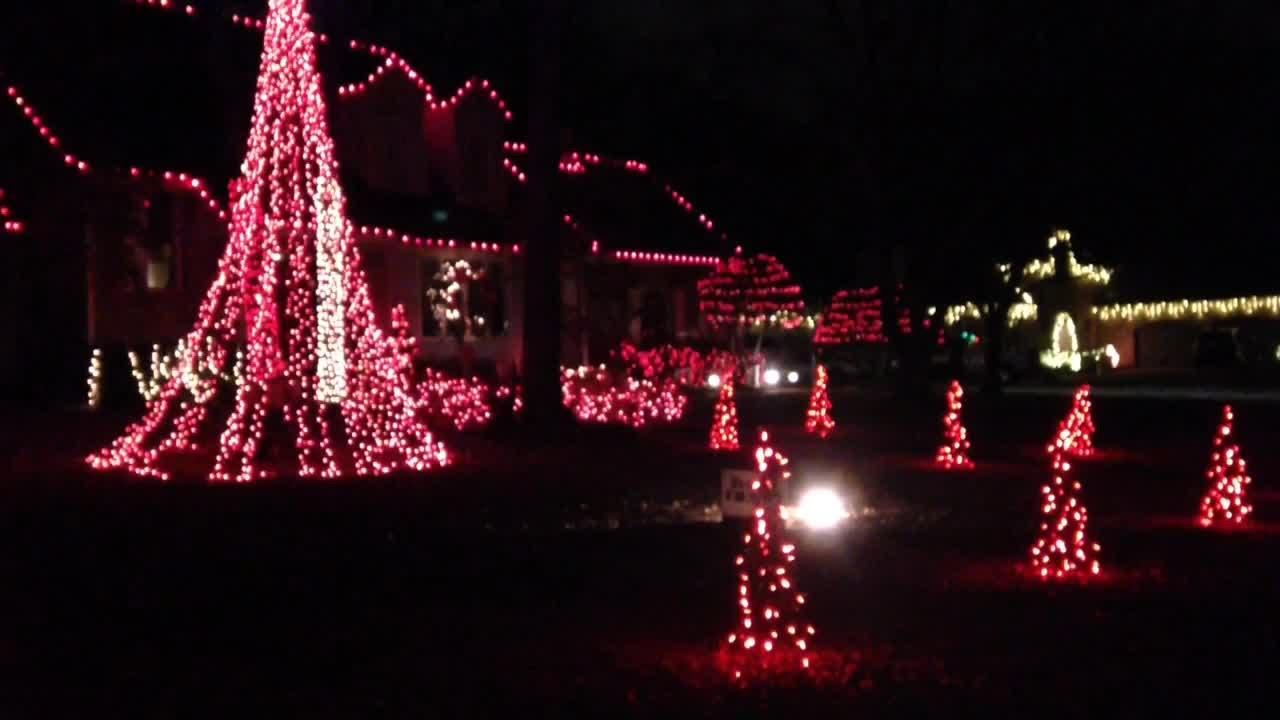 south tulsa home with christmas lights set to music - Christmas Lights Tulsa