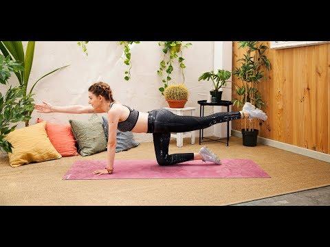 Pilates en casa   ELLE
