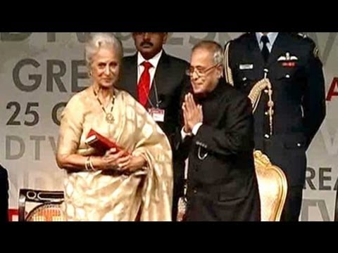 We are all one, made up of same clay: Waheeda Rehman