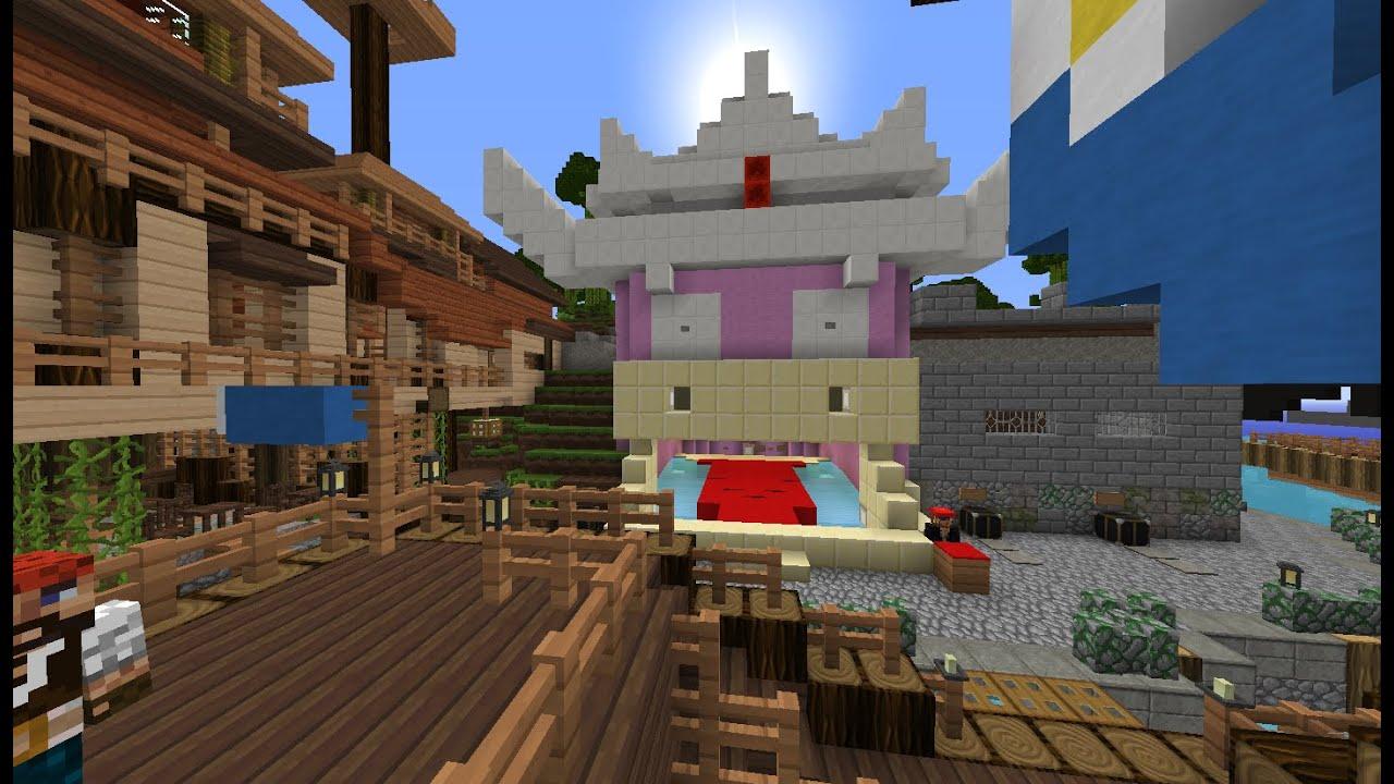 Serveur Minecraft Pixelmon Pokeland Visite De Port Roigada
