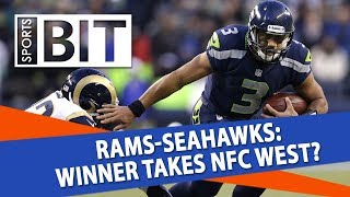 Los Angeles Rams at Seattle Seahawks | Sports BIT | NFL Picks thumbnail