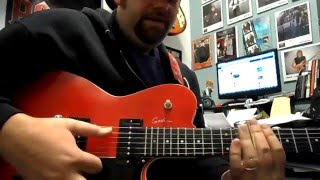 In My Time of Dying Led Zeppelin Celebration Day Open G guitar lesson