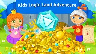 "Kids Logic Land Adventure Free ""Educational Brain Games"" Android Gameplay Video"
