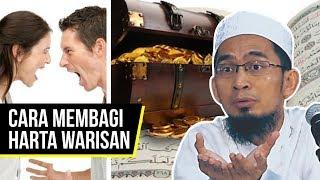 Begini Cara Membagi Warisan Menurut Islam - Ustadz Adi Hidayat LC MA