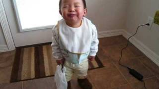 Baby Blowing Raspberries & Making Crazy Laugh