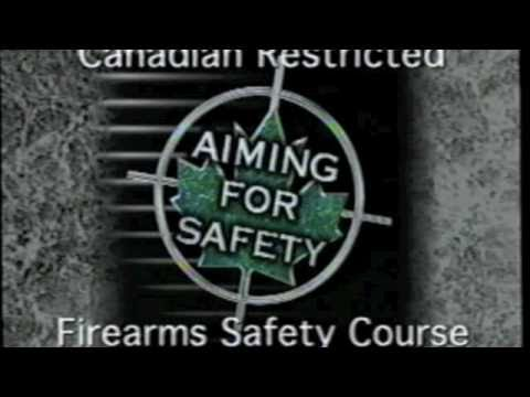 Canadian Restricted Firearms Safety Course Video PART 1