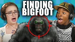 MONSTER HUNT! | FINDING BIGFOOT (Teens React: Gaming)