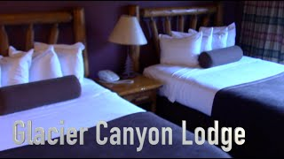 Hotel Room Tour: Glacier Canyon Lodge - Wilderness Resort, Wisconsin Dells, WI