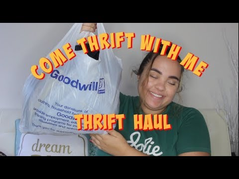 [VIDEO] - Plus Size Girl Goes Thrifting + Thrift Haul 2