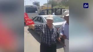 محتجون على اتفاقية غاز الاحتلال يؤكدون منعهم من الاعتصام في إربد (24/8/2019)
