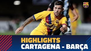 CARTAGENA 0-2 BARÇA | Highlights
