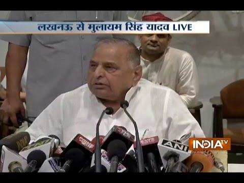 Mulayam Singh Yadav Rebuffs Akhilesh's Candidature As CM, Says Name To Be Declared After Elections