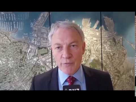 Auckland Mayor Phil Goff on the council's water infrastructure
