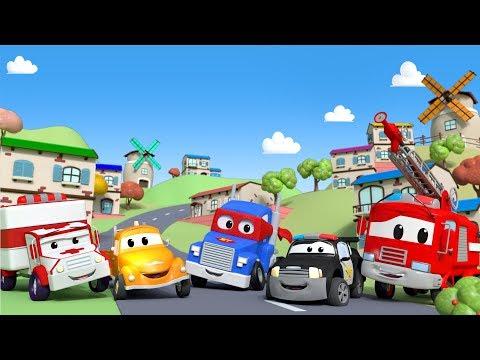 cidade do carro desenhos animados para crianças