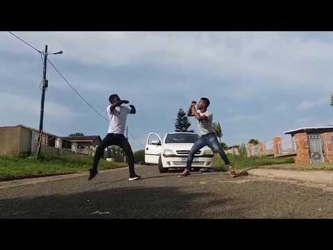 Distruction boyz Omunye phezu komunye bhenga dance by DangerFlex SA ft Luya