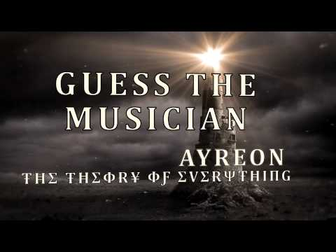 Guess the vocalist 3 - New Ayreon Theory of Everything