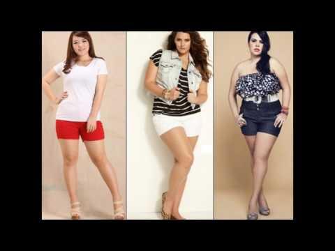 Модели шорт для полных женщин