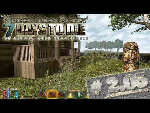 7 Days to Die Alpha 10.4 Tutorial #2.05 - Raus aus der Wüste! [Let's play][Deutsch German][HD+]