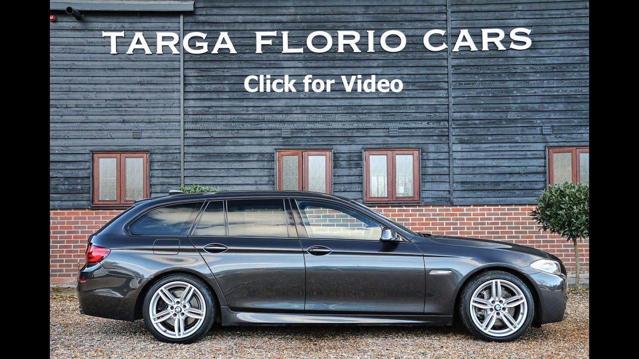 BMW 535d M Sport Touring 3 0 TwinPower Turbo Diesel Automatic in Sophisto  Grey